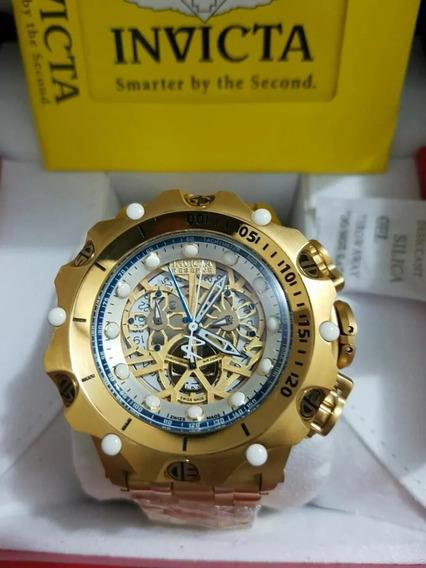 Relógio Jjr8547 Invicta 16855 Hybrid Esqueleton Com Caixa
