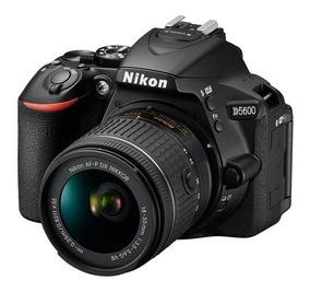 Câmera Nikon D5600 + Lente Af-p Dx 18-55mm Vr Wifi Giratório