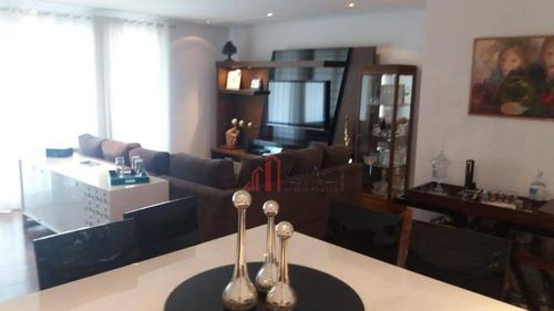 Apartamento Com 3 Dormitórios À Venda, 155 M² Por R$ 1.500.000,00 - Jardim Anália Franco - São Paulo/sp - Ap5912