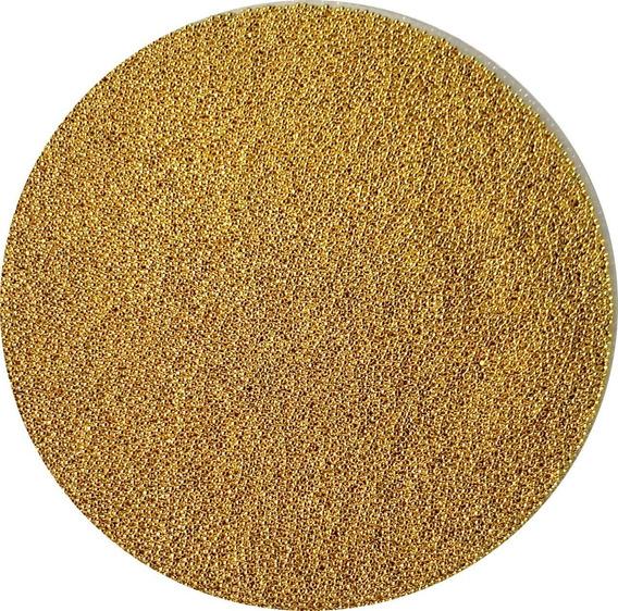 Caviar Metal 1 Mm Dourado Prata Rosê Grafite Furta Cor 10 Gr