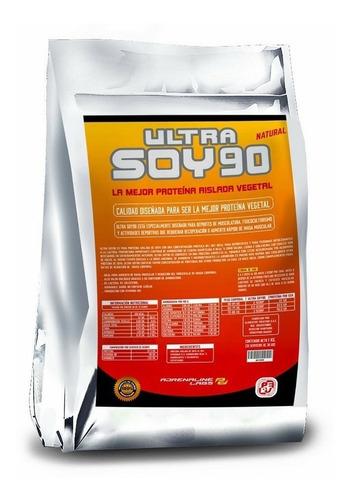 Proteina De Soya Natural 1k Sin Sabor Ni Endulcorantes