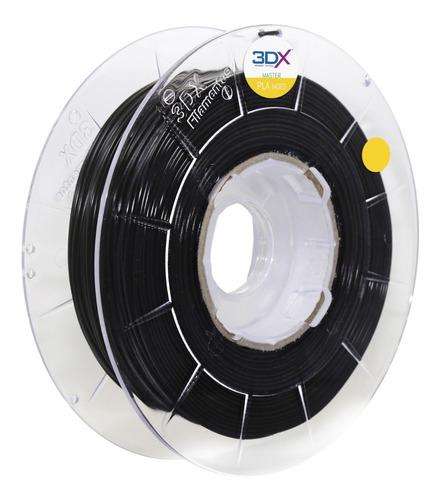 Imagem 1 de 7 de Filamento Pla 1,75 Mm | 1kg | Preto 3dx