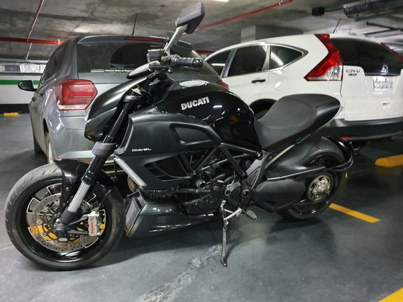 Ducati Diavel Black 2013 Con Escape