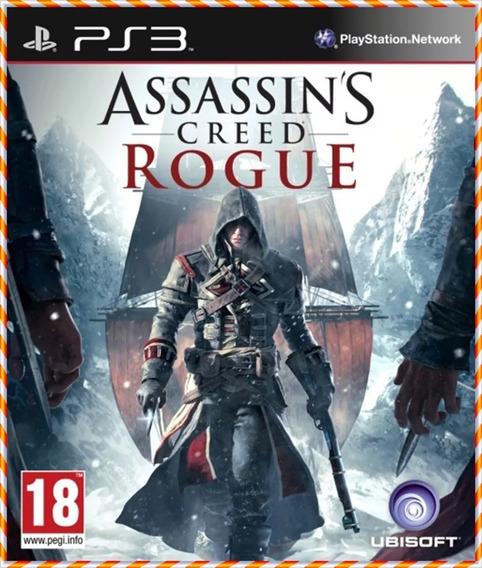 Assassins Creed Rogue Ps3 Psn Original Envio Imediato