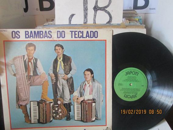 Lp Os Bambas Do Teclado Roda De Chimarrao 1981