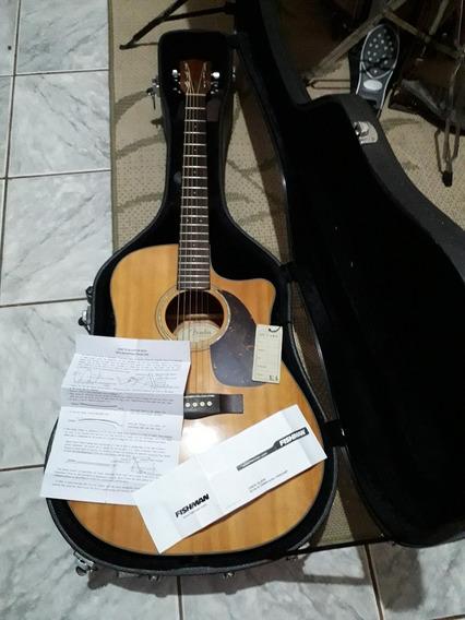 Violão Fender Cd60 Natural Com Hard Case