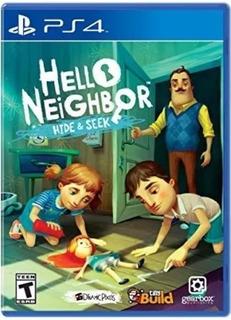 Hello Neighbor: Hide & Seek Ps4(nuevo Y Sellado De Fabrica)