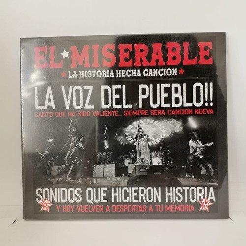Los Miserables La Voz Del Pueblo Cd Nuevo Musicovinyl