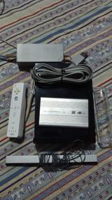 Videogame Nintendo Wii Desbloqueado + Hd Externo 80gb Jogos