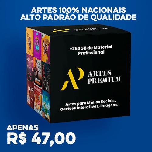 Imagem 1 de 1 de Artes Premium - O Melhor Pacote De Artes!