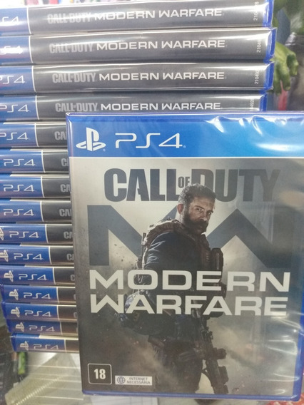 Call Of Duty Modern Warfare 2019 Ps4 Mídia Física Lacrado