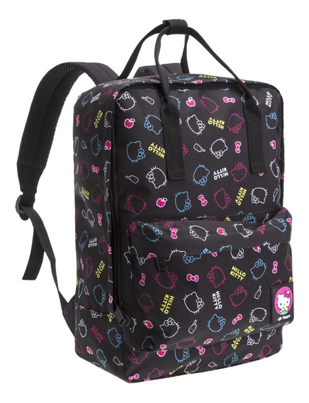 Mochila Topper Hello Kitty Flex Fashion Nena Niños