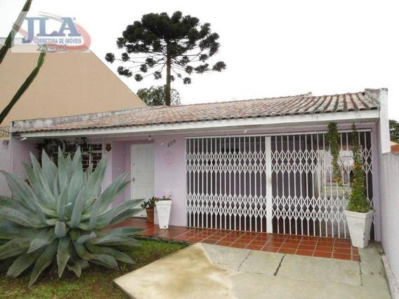 Casa Com 2 Dormitórios (140m²) + 1 Quarto/bwc E Cozinha (30m²) Para Alugar, 170 M² Por R$ 1.500/mês - Pilarzinho - Curitiba/pr - Ca0194