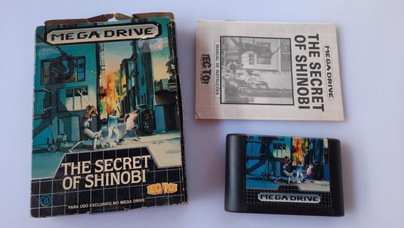 The Secret Of Shinobi - Mega Drive - Tec Toy