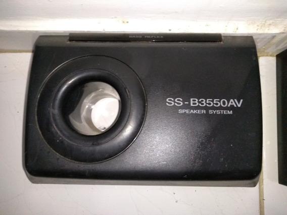 Acabamento Plástico Caixa De Som Gradiente Ss-b3550av Usado