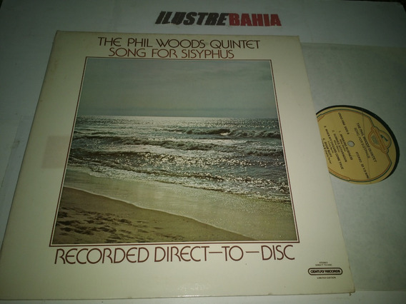Lp The Phil Woods Quintet Song For Sisyphus 1978 Audiophile