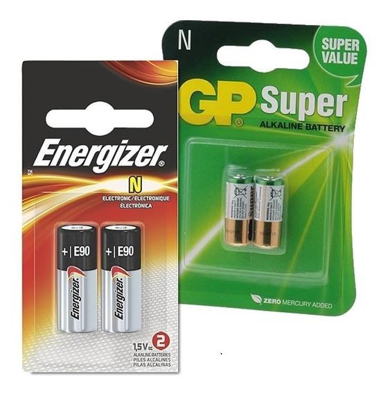 Pilha Bateria Tipo N Lr1 Gp910a E90bp-2 1.5v | 2 Cartelas