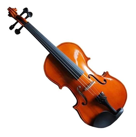 Violin G.music 3/4 G-1417nt Con Estuche, De Estudio