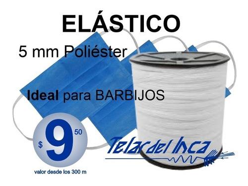 Elástico 5 Mm Ideal Para Barbijos $ 9,5 M