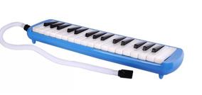 Flauta Melodica Sanrai 32 Notas Con Funda Piano *yulmar*