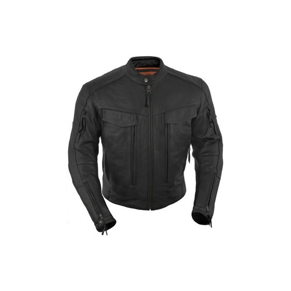 True Element Para Hombre Premium Vested Scooter Style Collar