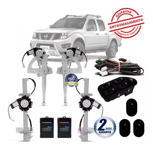 Vidro Nissan Frontier 4 Portas Completo 2009 10 11 12 13 14