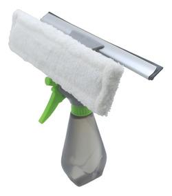 Rodo Limpa Vidros Com Spray Borrifador Spin Mop 3 Em 1 250ml