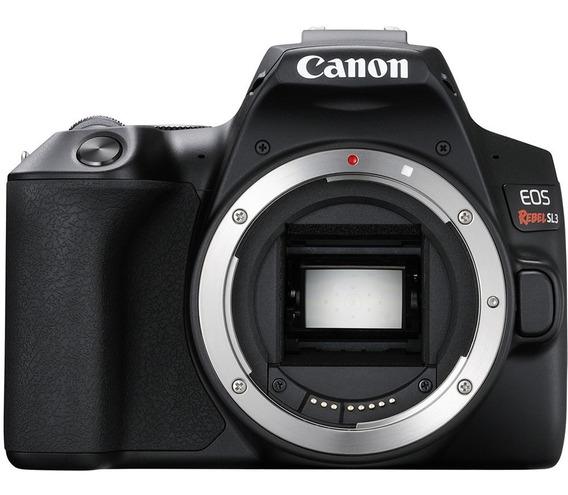 Camera Canon Rebel Sl3 + Lente 18 55 ***nova Lacrada***