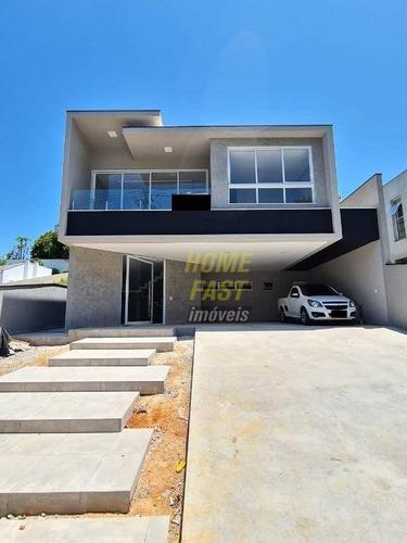 Casa Com 3 Dormitórios À Venda, 330 M² Por R$ 2.350.000 - Jardim Fazenda Rincao - Aruja V - Arujá/sp - Ca0567