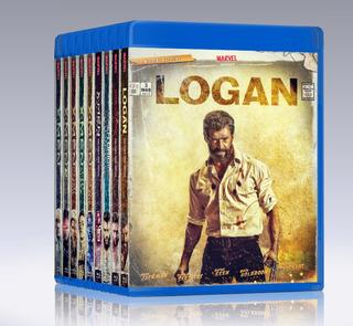 Saga Pack X-men 9 Blu-ray 1080 Maxima Calidad + Envio Gratis
