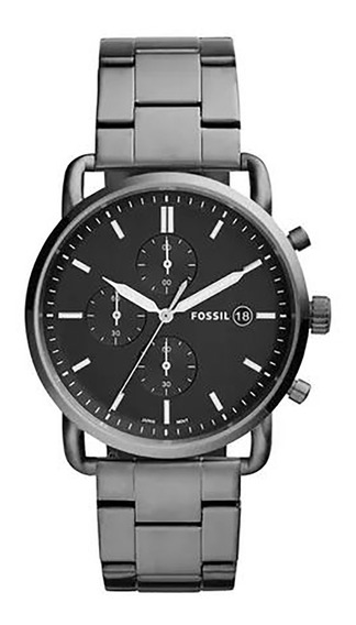Relógio Fossil The Commuter Masculino Fs5400/1kn