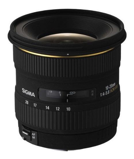 Lente Sigma 10-20mm F4-5.6 Ex Dc Hsm Para Nikon