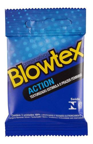 Preservativo Blowtex Action C/ 3 Unidades