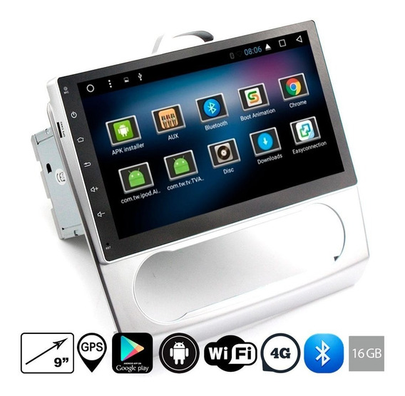 Estereo P Ford Focus Android Wifi Gps Bluetooth Touch 9