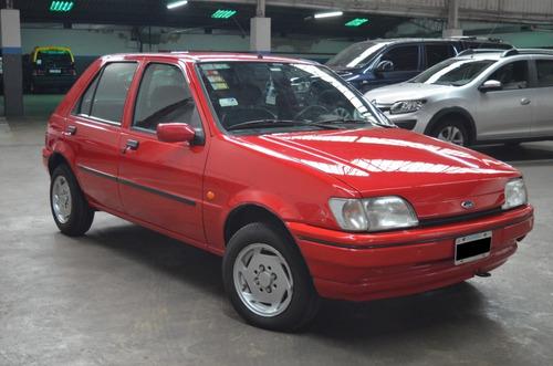 Imagen 1 de 14 de Ford Fiesta 1.8d Clx 1996 De Colección