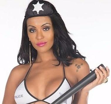 Mini Fantasia Sensual Xerife Pimenta Sexy
