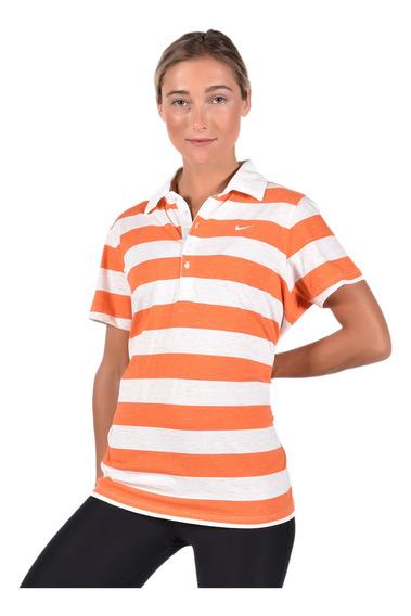 Polo Nike Mujer 533186813 Naranja