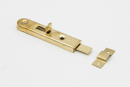 Pasador Para Placard Dorado   65mm   Precio X 2 Unidades