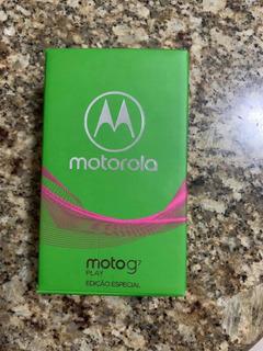 Vendo Celular G7 Motorola Play Edição Especial!
