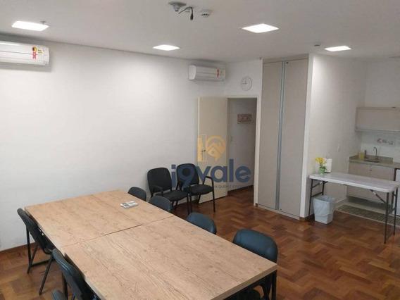 Alugo Sala Comercial Helbor Office - Mobiliada - Aquarius - Sjc - Sa0234