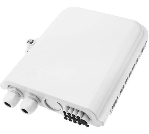 Caja De Empalme Para 6 Conexiones Para Fibra Optica Lc Y Sc