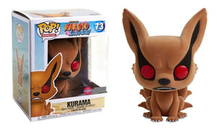 Funko Pop Naruto Shippuden - Kurama #73 Flocked Hot Topic