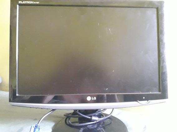 Monitor 17 Polegadas Lg Flatron W1752t Em Perfeito Estado