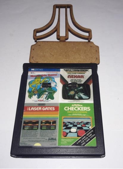 Laser Gates / Name This Game / Nexar / Checkers 4in1 Atari