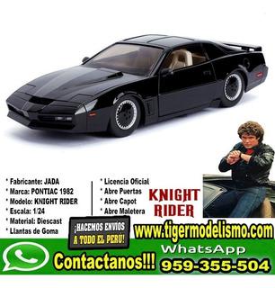 Auto Escala Auto Fantastico Jada Con Luz Roja 1/24 Sku: 386