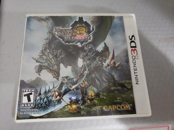 Monster Hunter 3 Para Nintendo 3ds E 2ds