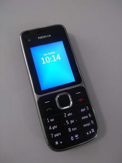 Celular Nokia C2-01 - 3g, 3mp Fm Mp3 - Usado