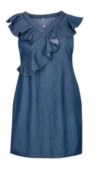 Vestido Mezclilla 73-403 Rinna Primavera-verano 2020