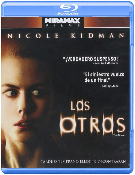 Los Otros The Others Nicole Kidman Pelicula Blu-ray