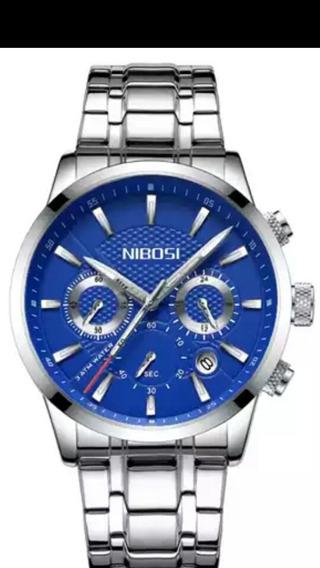 Nibosi Original +pulseira Extra Original De Couro